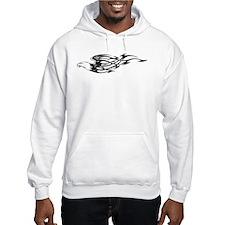 Flaming Eagle Hoodie