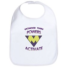 Wonder Twin Powers M Bib