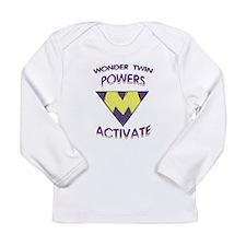 Wonder Twin Powers M Long Sleeve T-Shirt