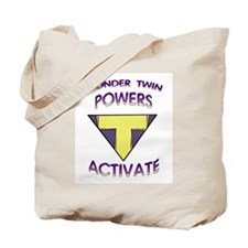 Wonder Twin T Tote Bag