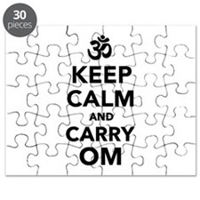Keep calm and carry om Puzzle