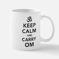 Keep calm and carry om Mug