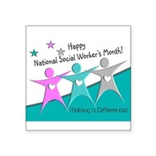 Happy social workers month 2 Sticker
