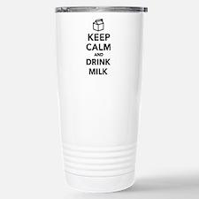 Keep calm and drink Mil Travel Mug