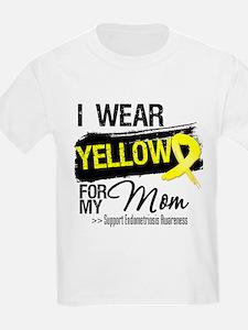 Mom Endometriosis Ribbon T-Shirt