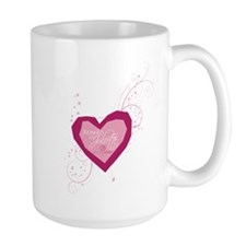 Romeo and Juliette Heart Mug