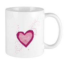 Romeo and Juliette Heart Mug