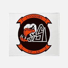 VP 64 Condors Throw Blanket