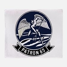 VP 65 Tridents Throw Blanket