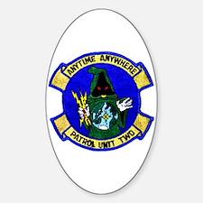 Vpu 2 Wizards Sticker (oval)