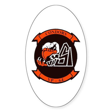 VP 64 Condors Sticker (Oval)