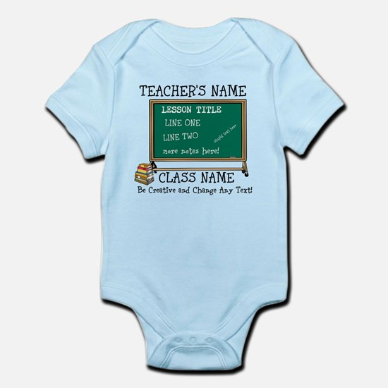 Teacher School Class Personalized Body Suit
