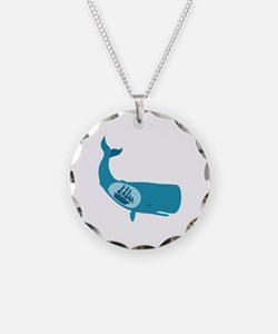 Whale Belly Ship Moby Dick Necklace