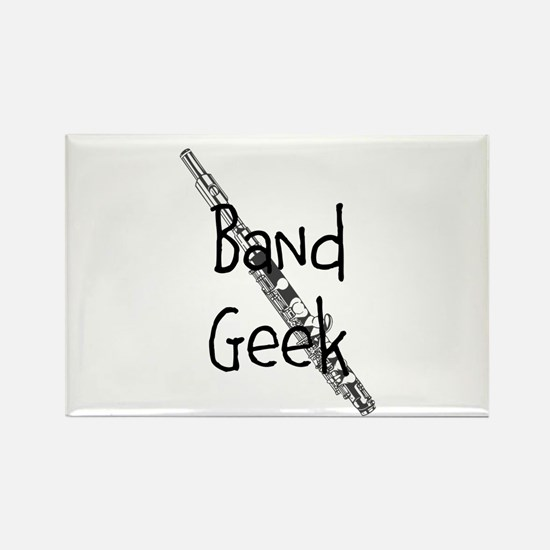 Band Geek Flute Magnets
