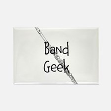 Band Geek Flute Magnets
