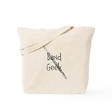 Band Geek Flute Tote Bag