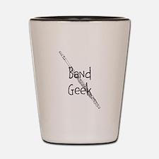 Band Geek Flute Shot Glass