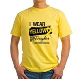 Endometriosis Mens Yellow T-shirts