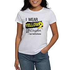 Daughter Endometriosis Ribbon Tee