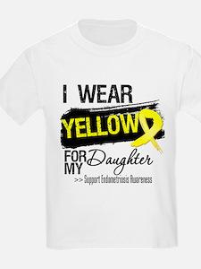 Daughter Endometriosis Ribbon T-Shirt