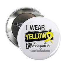 "Daughter Endometriosis Ribbon 2.25"" Button"