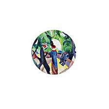 August Macke - Promenade Mini Button