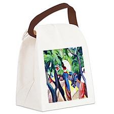 August Macke - Promenade Canvas Lunch Bag