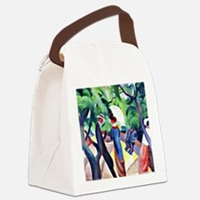 August Macke - Promenade Canvas Lunch Bag