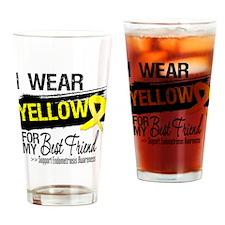 Best Friend Endometriosis Drinking Glass