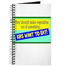Kids Eatable Vegetables Journal