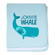 Jonah And The Whale baby blanket