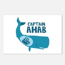 Captain Ahab Postcards (Package of 8)