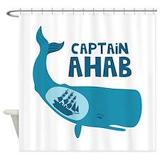 Captain Ahab Shower Curtain