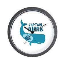 Captain Ahab Wall Clock