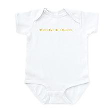 Shraders Super  Sweet Bachlor Infant Bodysuit