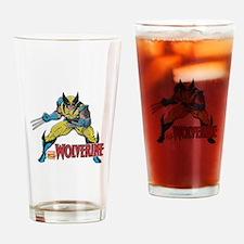 Vintage Wolverine Drinking Glass