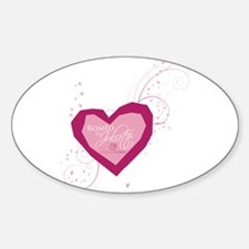 Romeo and Juliette Heart Decal