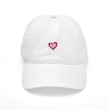 Romeo and Juliette Heart Baseball Cap