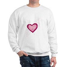 Romeo and Juliette Heart Sweatshirt