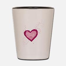 Romeo and Juliet Heart Shot Glass