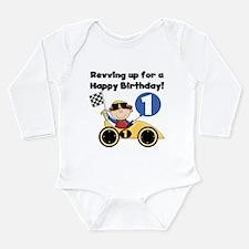 Race Car 1st Birthday Body Suit