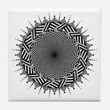 Sunflower Design Zia Tile Tile Coaster