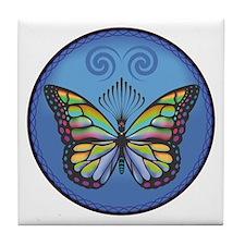Butterfly Tile Tile Coaster