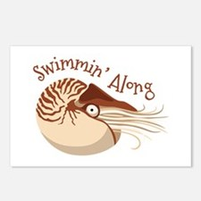 Swimmin Along Postcards (Package of 8)