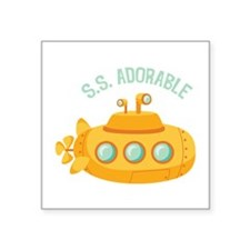 S.S. Adorable Sticker
