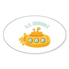 S.S. Adorable Decal