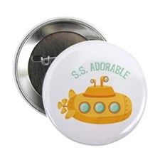 "S.S. Adorable 2.25"" Button (10 pack)"