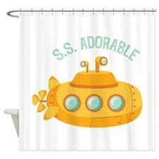 S.S. Adorable Shower Curtain