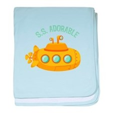 S.S. Adorable baby blanket