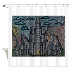 Fortress on the Plateau Shower Curtain